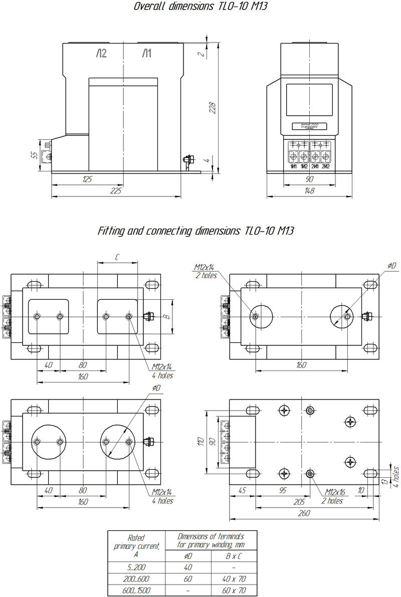Tlo 10 M13 Instrument Transformer Wiring Diagram